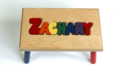 Large Name Stool (8-9 Letters)
