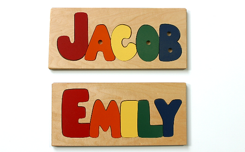 1-3 Letter Name Puzzle