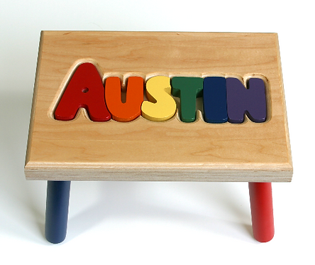 Regular Name Stool (1-7 Letters)