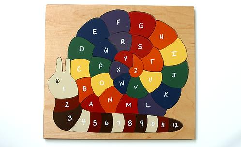 ABC Snail Puzzle