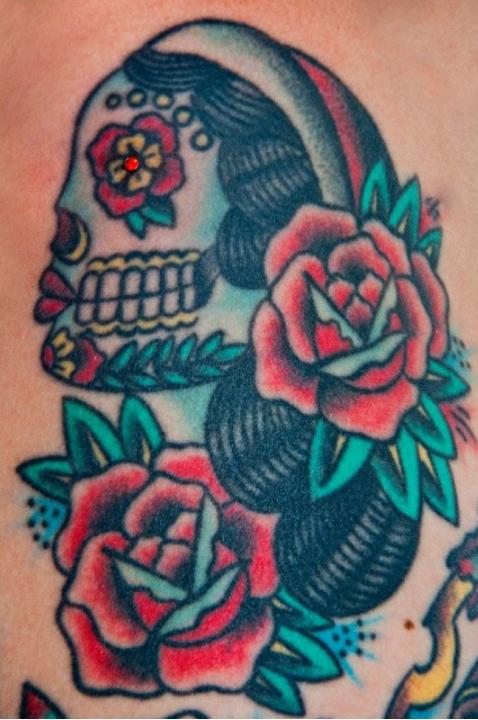 Dermal tattoo