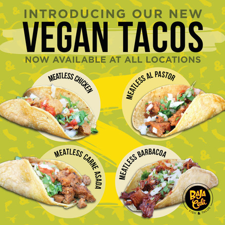 Vegan Options Are Here!