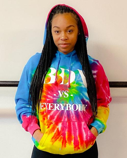 BBDA Vs. Everybody Tie-Dye Hoodie