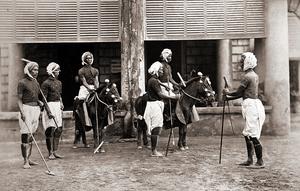 origines du polo