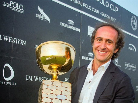 Entretien avec Jean-Edouard Mazery, président du Deauville International Polo Club.