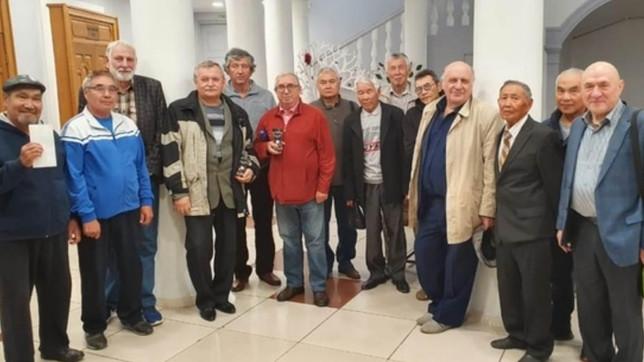 В Абакане прошел шахматный турнир среди ветеранов