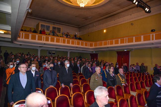 ФОТОРЕПОРТАЖ: Вечер памяти посвященной 32-й годовщины вывода Советских войск из Афганистана