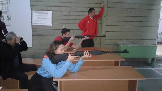 Усть-Абаканское «БОЕВОЕ БРАТСТВО» провело открытый турнир по стрельбе из пневматической винтовки