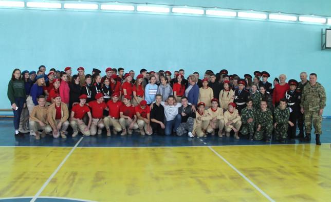Усть-Абаканское местное отделение  «Боевое Братство» организовало   соревнования военно-патриотическ