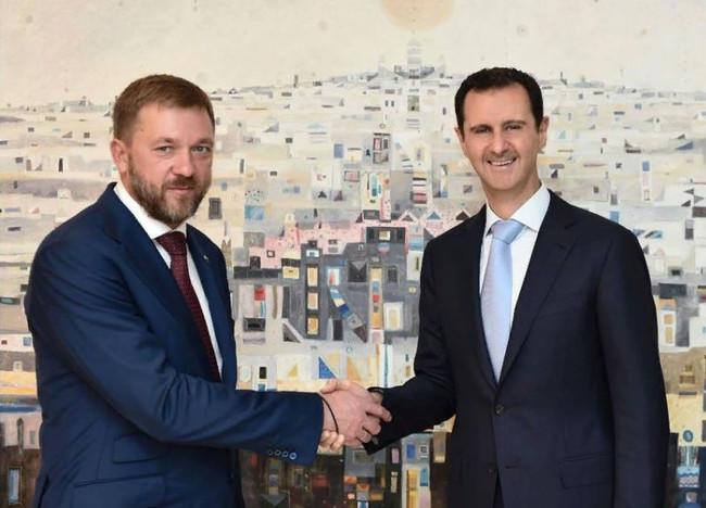 Дмитрий Саблин: Асад высоко оценил советское и российское оружие