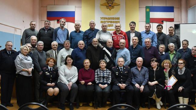 Совет ветеранов ОВД города Абакана провел отчетное собрание