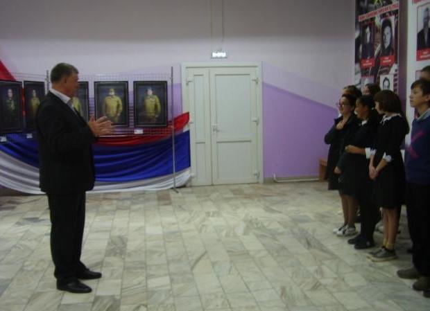 """Уроки """"Мужества и Чести"""" прошли в Алтайском районе"""