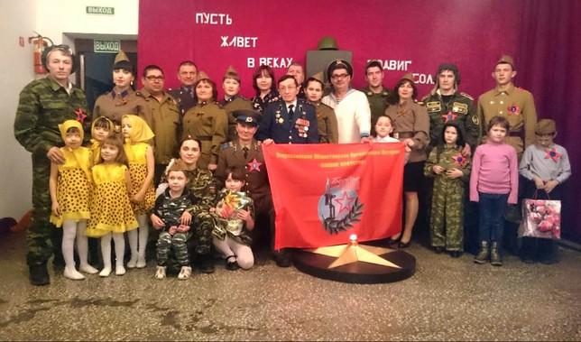 В Усть-Абаканском районе Хакасии прошел праздник «А ну-ка парни», посвященный Дню защитника Отечеств