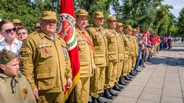 В Хакасии состоялась торжественная передача боевых знамен орденоносной Пирятинской стрелковой дивизи