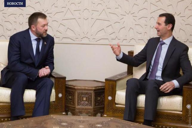 Башар Асад и Дмитрий Саблин обсудили ситуацию в Сирии