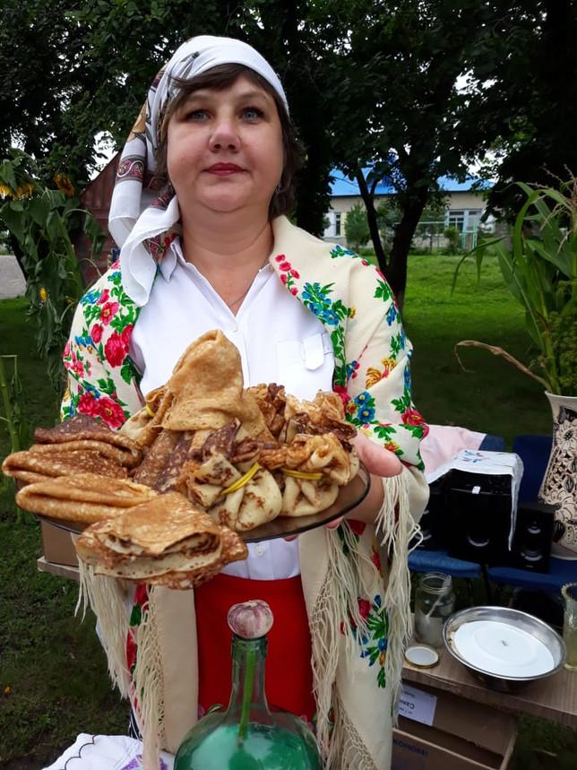 Ветеранские организации Алтайского района участвовали в фестивале борща в с. Кирово