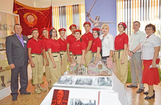 Открылась новая экспозиция в музее «Память сильнее времени»