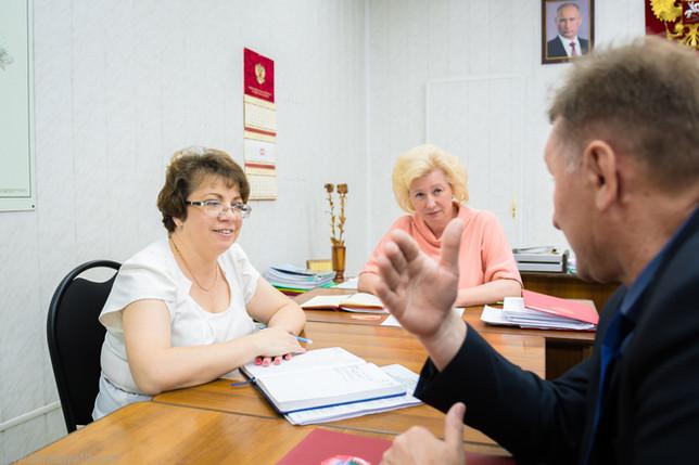 Актив Усть-Абаканского местного отделения «БОЕВОЕ БРАТСТВО» встретились с главой администрации район