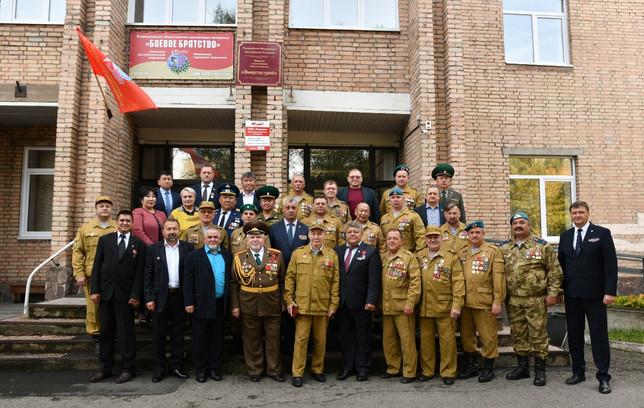 «БОЕВОЕ БРАТСТВО» Хакасии получило собственный штаб-офис