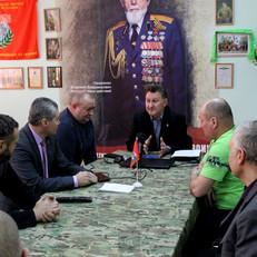 В Усть-Абаканском отделении подвели итоги за 2020 г и торжественно вручили членские билеты ветеранам
