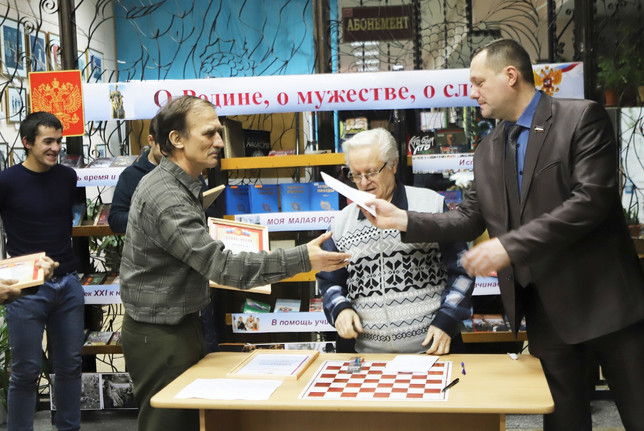 В Черногорске прошел турнир по шахматам
