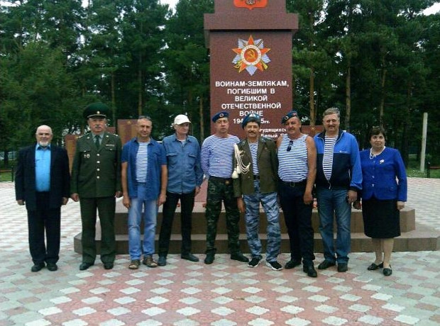 День ВДВ в Алтайском районе