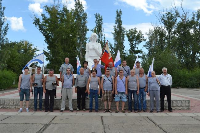 В Усть-Абаканском районе республики Хакасия чествовали ветеранов Военно-морского флота
