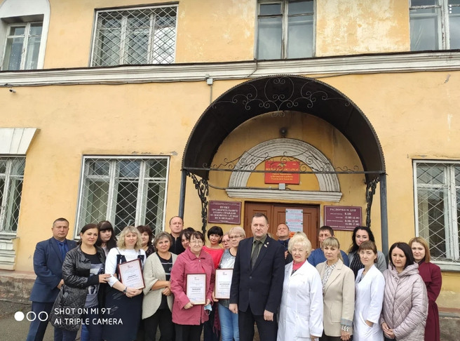 Поздравление с 80 - летием военного комиссариата города Черногорск и Боградского района Республики Х