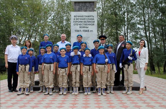 Усть-Абаканское местное отделение «Боевое Братство» приняло участие в торжественной церемонии принят