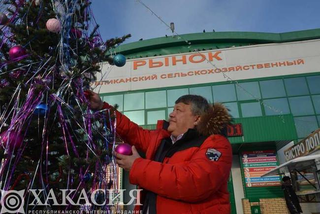 В Хакасии на «Ёлке добра» взрослые превратились в добрых волшебников