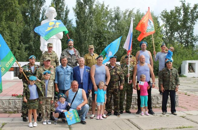 «Крылатая гвардия» Усть-Абаканского района республики Хакасия отметила 90-летие образования Воздушно