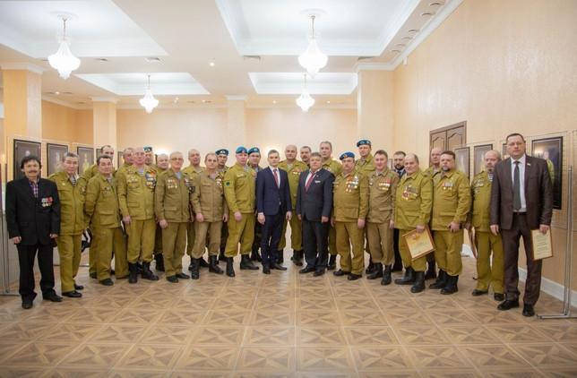 Валентин Коновалов: «Выражаю искреннюю признательность и поздравляю всех ветеранов боевых действий»