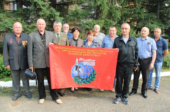 В Алтайском районе ветеранам вручили членские билеты БОЕВОГО БРАТСТВА