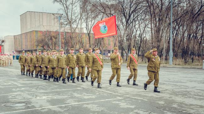 В Хакасии продолжается подготовка ветеранов боевых действий, к 73—годовщине Победы в Великой Отечест
