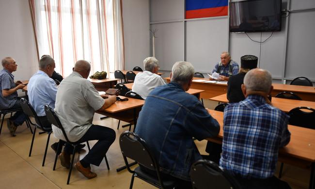 Состоялось заседания совета ветеранов пограничной службы Хакасии
