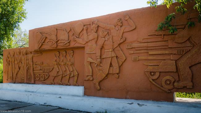 Усть-Абаканское отделение «БОЕВОЕ БРАТСТВО» приняло участие в акции Дня памяти и скорби