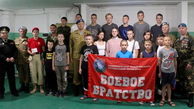 Встреча в клубе «Десантник»