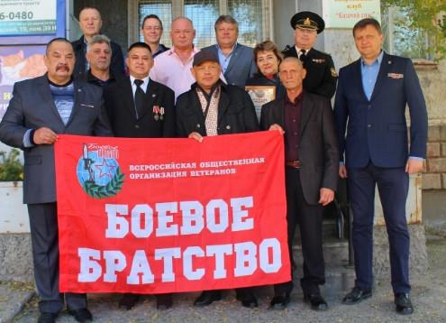 В Саяногорске ветераны боевых действий получили заслуженные награды