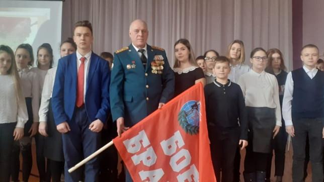 Урок мужества в Черногорске
