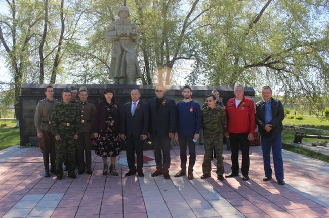 Усть-Абаканское отделение ветеранов «БОЕВОЕ БРАТСТВО», республики Хакасия приняли участие в акции по
