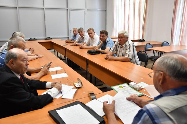 Состоялось совещание ветеранов пограничной службы Хакасии