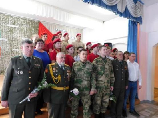 Уроки мужества в Алтайском районе