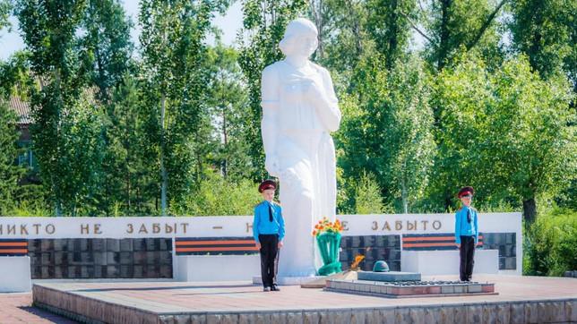 Усть-Абаканское отделение «БОЕВОЕ БРАТСТВО» приняло участие в акции Дня памяти и скорби.