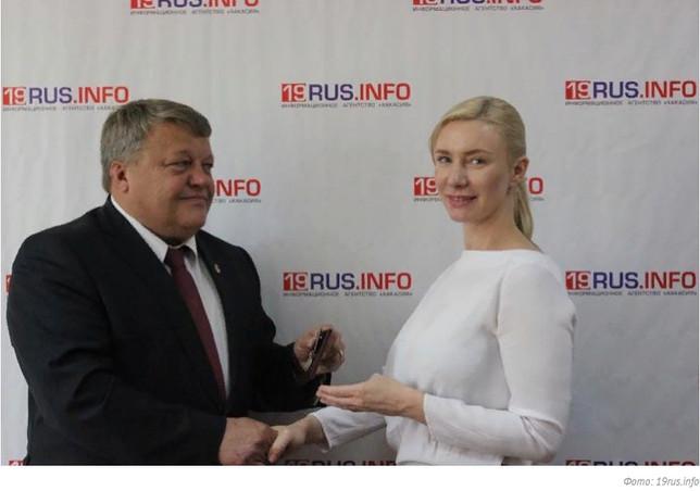 В Хакасии награда нашла своего героя: Надежда Узунова получила медаль за Донбасс