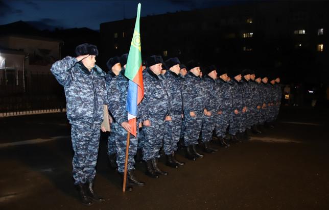 Полицейских из Хакасии отправили на Северный Кавказ