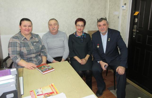 Состоялась рабочая встреча со старостой жилого района Полярный