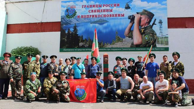 В Саяногорске отметили 100 лет пограничной службы России