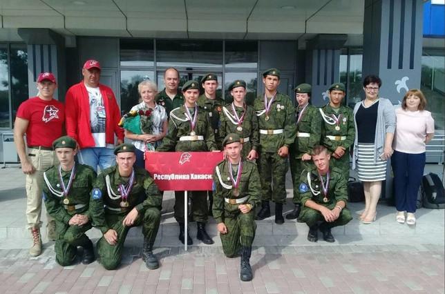 Команда «Ирбис» - призер Всероссийской военно-спортивной игры Победа-2018