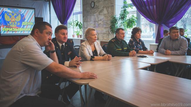 Члены Усть-Абаканского местного отделения «Боевое Братство» приняли участие в праздновании Дня призы