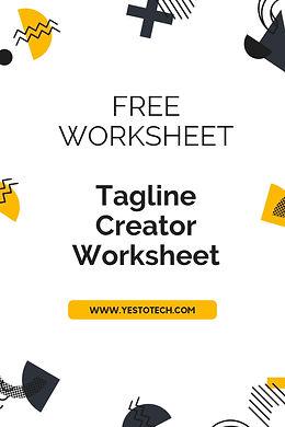 Resources - Tagline Creator Worksheet.jp